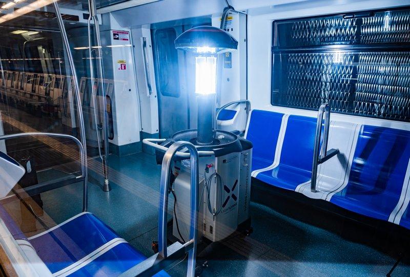 Serveis neteja i desinfecció a infraestructures de transport públic