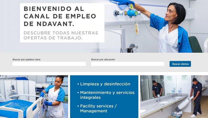 Borsa de treball sector neteja - Canal ocupació Ndavant